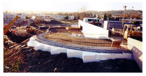 Geofoam construcion at Carousel mall,Syracuse